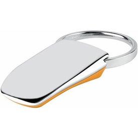 Personalized Groove-N-Lock Thumb Pad Key Tag