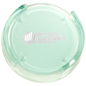 Promotional Guggenheim Round Glass Coaster Set