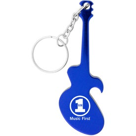 Guitar Key Chain Bottle Opener for Your Church