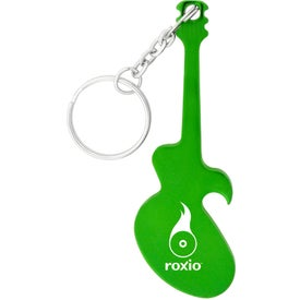 Guitar Key Chain Bottle Opener Printed with Your Logo