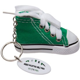 Advertising Gym Shoe Keytag