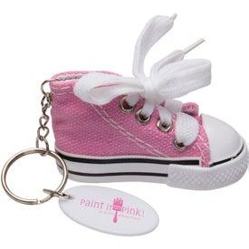 Custom Gym Shoe Keytag