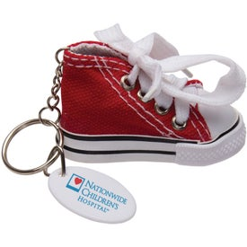 Gym Shoe Keytag Printed with Your Logo