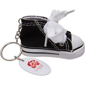 Gym Shoe Keytag for Your Organization