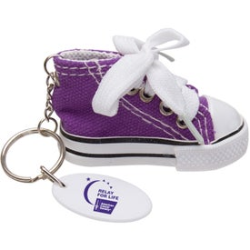 Gym Shoe Keytag for Promotion