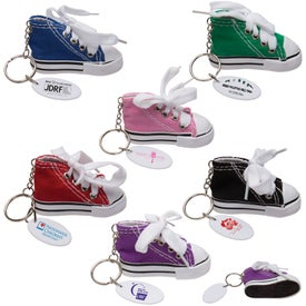Personalized Gym Shoe Keytag