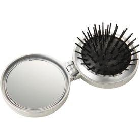 Advertising Hair Brush with Sewing Kit
