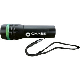 Branded Halo Dual Output LED Flashlight