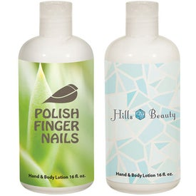 Hand and Body Lotion Bottle for Marketing