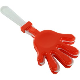 Plastic Hand Clapper Branded with Your Logo