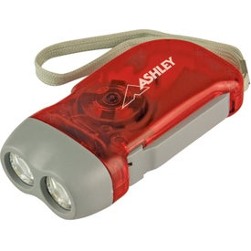 Hand Crank Powered Flashlight