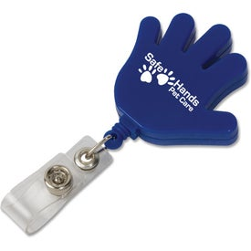 Hand Retractable Badge Holder for Customization