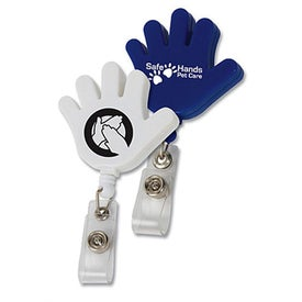 Hand Retractable Badge Holders