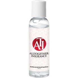 Hand Sanitizer in Plastic Bottle (2 Oz.)