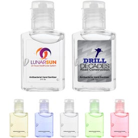 Hand Sanitizer Bottle (0.5 Oz.)