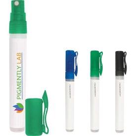 Advertising Hand Sanitizer Spray