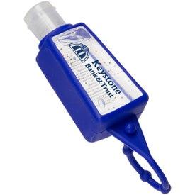 Branded Gel Go Hand Sanitizer Carrier