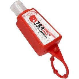 Custom Gel Go Hand Sanitizer Carrier