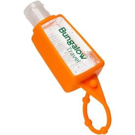 Monogrammed Gel Go Hand Sanitizer Carrier