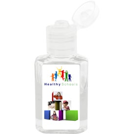 "Hand Sanitizer Gel (1.125"" x 2.625"")"