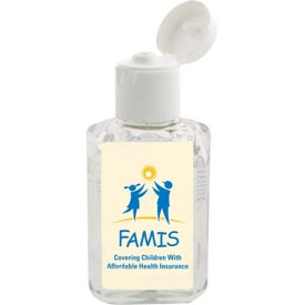 "Hand Sanitizer Gel (2 Oz., 1.75"" x 4"")"