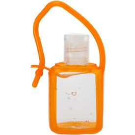 Custom Hand Sanitizer In Silicone Case