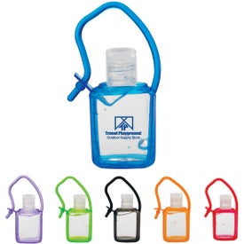 Hand Sanitizer In Silicone Case