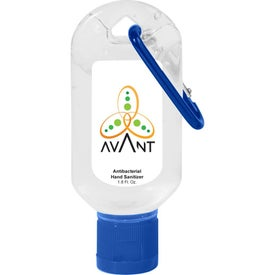 Hand Sanitizer With Carabiner (50 mL)