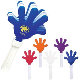 Imprinted Noisy Hand Clapper