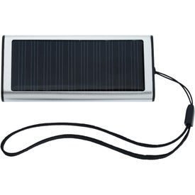 Handheld Solar Charger with Your Slogan