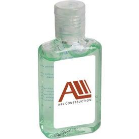 Hand Sanitizer Gel with Aloe (1 Oz.)