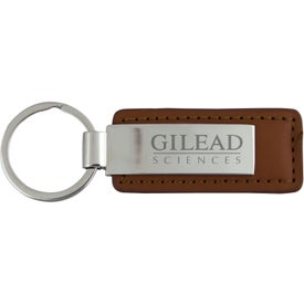 The Hanford Key Chain Imprinted with Your Logo