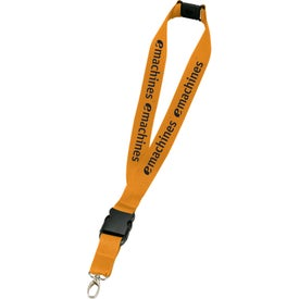 Monogrammed Hang In There Lanyard