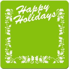 Logo Happy Holidays Stock Jar Opener