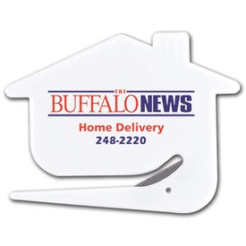 Happy House Letter Opener for Your Organization