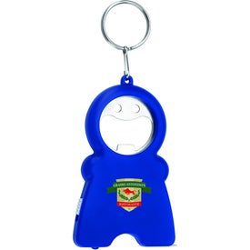Happy Tri-Function Keychain for Advertising