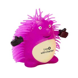 Happy Hedgehog Puffer Pet with Your Logo