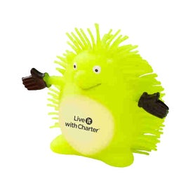 Imprinted Happy Hedgehog Puffer Pet