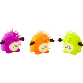 Personalized Happy Hedgehog Puffer Pet