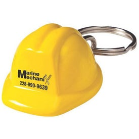 Custom Hard Hat Keychain Giveaways