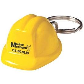 Acrylic Hard Hat Keychain Giveaways