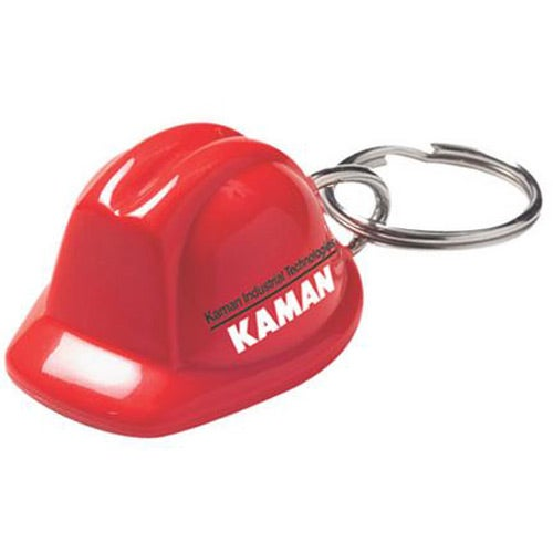 Red Acrylic Hard Hat Keychain