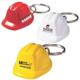 Acrylic Hard Hat Keychain