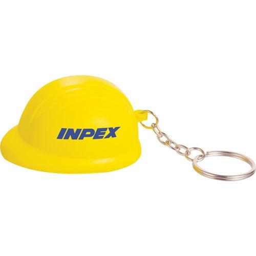 Promotional Hard Hat Keychain Stress Balls with Custom ...