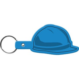 Hard Hat Key Tag with Your Slogan
