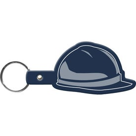 Hard Hat Key Tag Printed with Your Logo