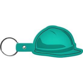 Monogrammed Hard Hat Key Tag