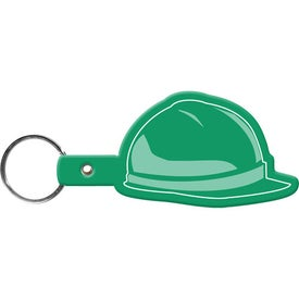Hard Hat Key Tag with Your Logo