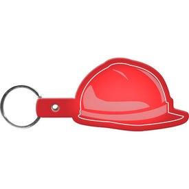 Branded Hard Hat Key Tag