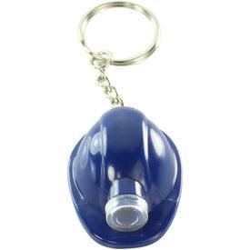 Company Hard Hat LED Key Chain